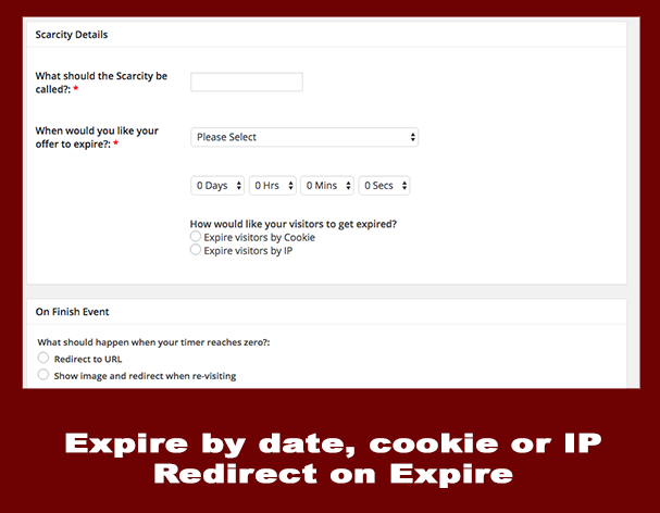 expire timer by ip